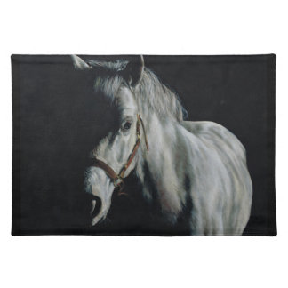 The Silver Horse in the shadows Placemat