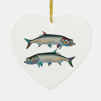 THE SILVER KINGS CERAMIC HEART DECORATION