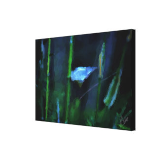 THE SILVER LEAF CANVAS PRINT