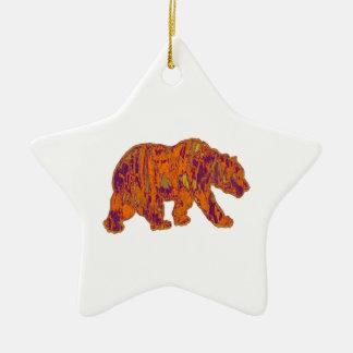The Simple Bear Necessities Ceramic Ornament