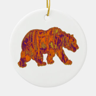 The Simple Bear Necessities Ceramic Ornament