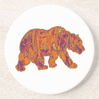 The Simple Bear Necessities Coaster