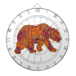 The Simple Bear Necessities Dartboard