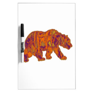 The Simple Bear Necessities Dry Erase Board