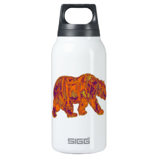 The Simple Bear Necessities Insulated Water Bottle