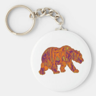 The Simple Bear Necessities Key Ring