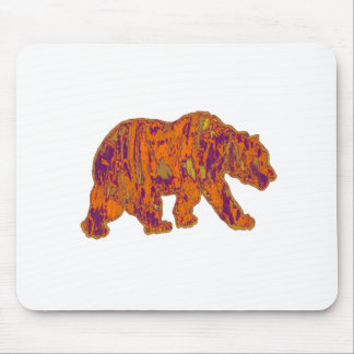The Simple Bear Necessities Mouse Pad