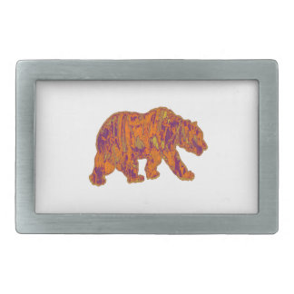 The Simple Bear Necessities Rectangular Belt Buckles