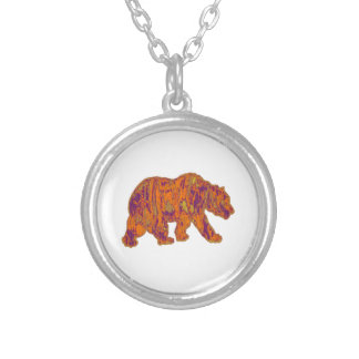 The Simple Bear Necessities Silver Plated Necklace