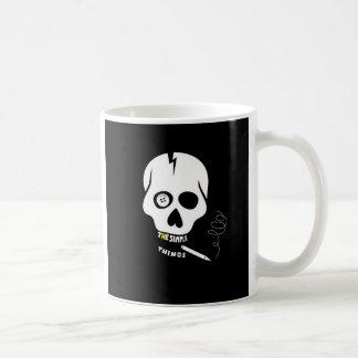 The simple things skull basic white mug