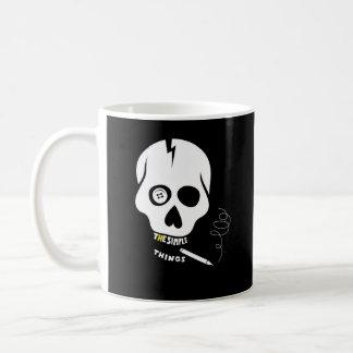 The simple things skull coffee mugs