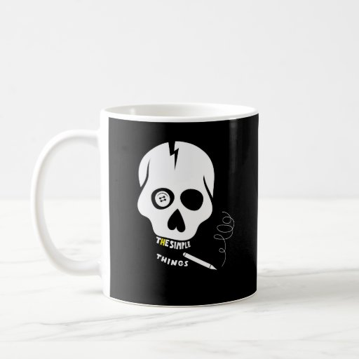 The simple things skull coffee mugs