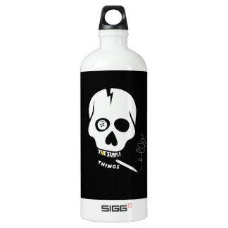 The simple things skull SIGG traveller 1.0L water bottle