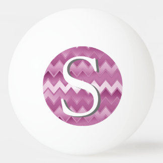 The Simply ZigZag - Pink Ping-Pong Ball