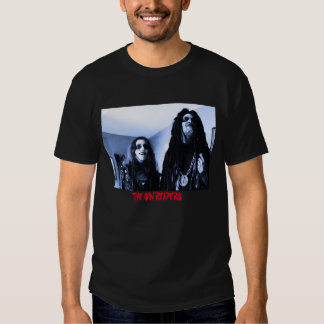 The Sin Reapers Meet The Reapers/Back Text T-Shirt