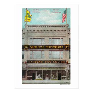 The Sing Fat Co, Oriental Emporium Postcard