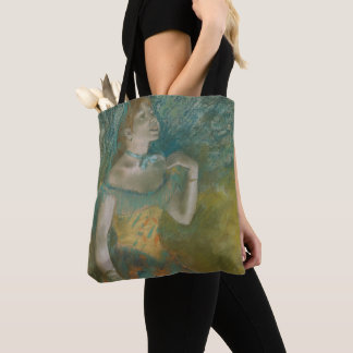 The Singer in Green Tote Bag
