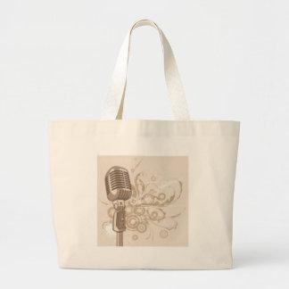 The Singer's Studio Tote Bags