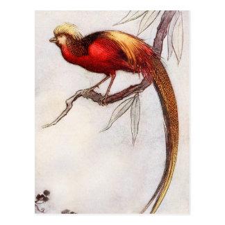 The Singing Bird of Heaven Postcard