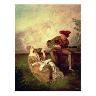 The Singing Lesson Postcard