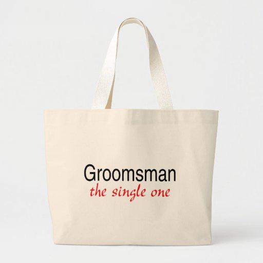 The Single One (Groomsman) Tote Bag