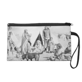 The Sioux Reservation at Pine Ridge, South Dakota, Wristlet Clutch