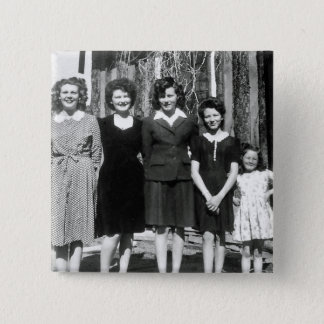 The sisters 15 cm square badge