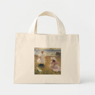 The Sisters, by Frank Weston Benson Mini Tote Bag