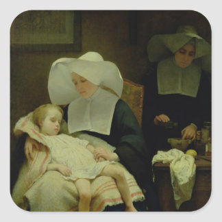The Sisters of Mercy, 1859 Square Sticker