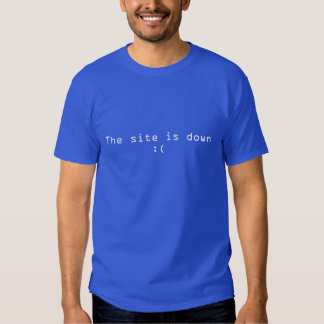The site is down :( Funny Geek T-Shirt