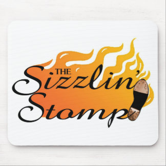 The Sizzlin' Stomp Mousepad