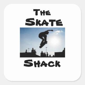 The Skate Shack Square Sticker