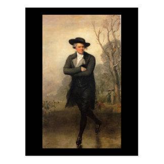 The Skater, by Gilbert Stuart Postcard
