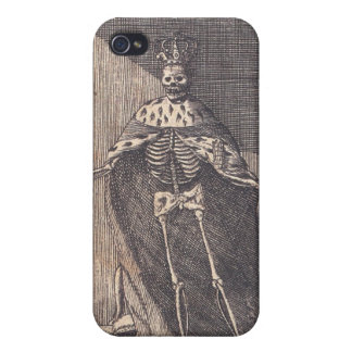 """The """"Skeleton King"""" circa 1792 Cases For iPhone 4"""