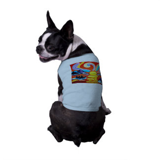 The Skellig Island Range Doggie Ribbed Tank Top