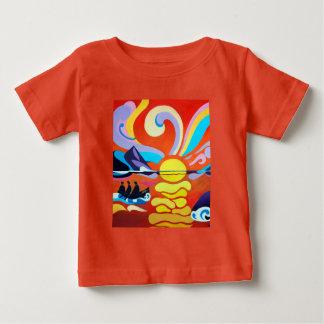 The Skellig Island Range Fine Baby Tee Shirt