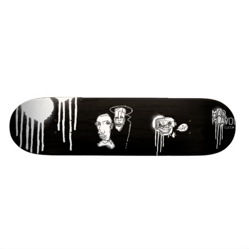 The Sketch-faced Deck Skate Boards