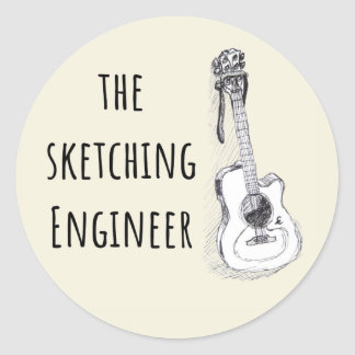 The Sketching Engineer Stickers
