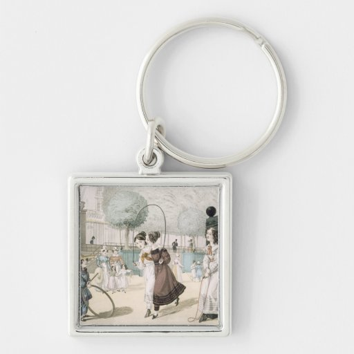 The Skipping Game, plate 115 from 'Le Bon Genre', Key Chains