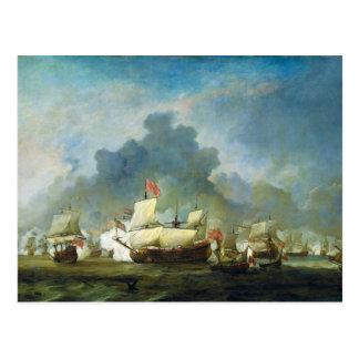 The Skirmish of Michiel Adriaensz de Ruyter Postcard