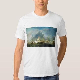 The Skirmish of Michiel Adriaensz de Ruyter Tee Shirts