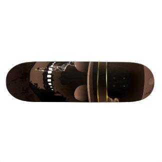 The skull fighter skate decks