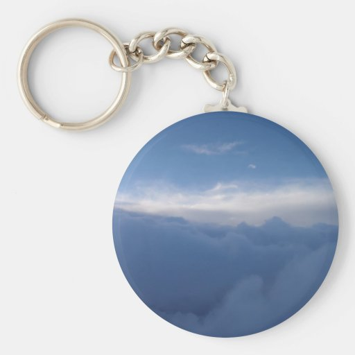 The Sky And The Clouds Keychain