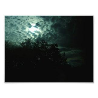 the sky breaks photo art