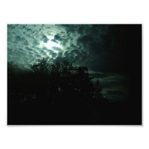 the sky breaks photograph