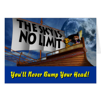 The Sky is No Limit Card
