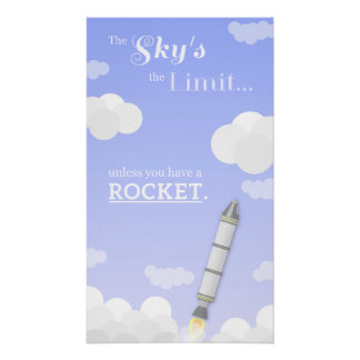 The Sky s the Limit Poster
