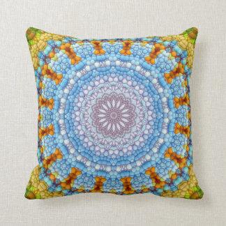 """The Sky Within Mandala"" Pillow"