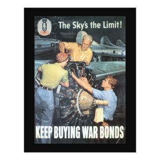 The Sky's The Limit World War II Custom Flyer