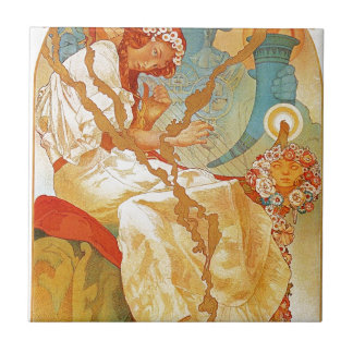 The Slav Epic by Alphonse Mucha Tile